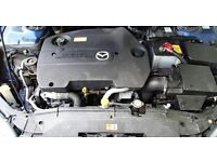 2002-2006 MAZDA 6 2.0 TD 136 BHP RF5C COMPLETE ENGINE WITH ANCILLARIES 68,000 MILEAGE ONLY