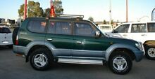 2000 Toyota Landcruiser Prado VZJ95R VX Green 4 Speed Automatic Wagon Bellevue Swan Area Preview