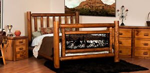 CANADIAN MADE Cedar and Log Furniture Made to Last a Lifetime
