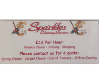 Sparkles Cleaning & Home Help Fully Insured(Cleaner)