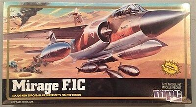 MPC 1:72 Mirage F.1C Major European Air Superiority Fighter Design 4130