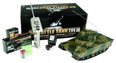 Heng Long Radio Control RC Military Army Battle BB Firing Type-90 T90 Tank 3808