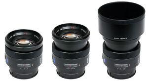 Sony - Zeiss 85mm F1.4 Lens Mint