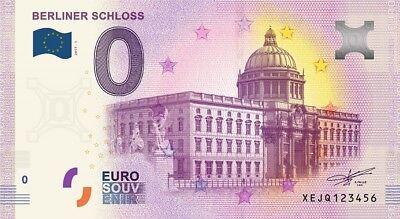 Billet Touristique 0 Euro --- Berliner Schloss - 2017-1
