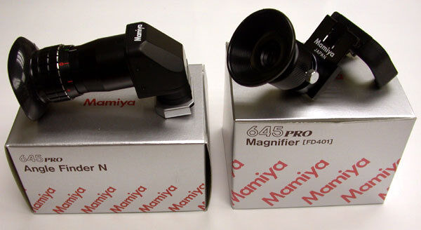 Mamiya 645 PRO TL / 645 PRO ANGLE FINDER