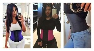 Real Ann chery 100% Gaine en Latex - Waist trainer