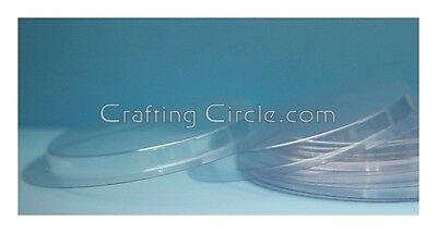 "Card Making 3"" circle Shaker Window Pouches  - 10 pack + Bonus"