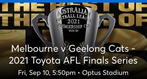Preliminary Final Melbourne V Geelong