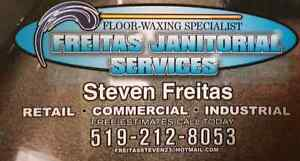 Offering Floor waxing and Janitorial services and maintenance Kitchener / Waterloo Kitchener Area image 2