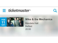 Mike and the Mechanics 2 tickets Belfast