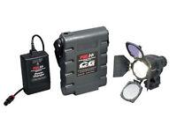 Used PAGLIGHT C6 professional broadcast portable light