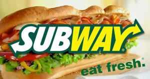 Subway Restaurant for sale
