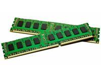 2 x 4gb of ram ddr3 133 mhz sticks for sale