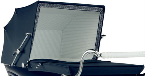 "Silver Cross Coach Built Pram Hood / Apron Cover - Kensington 36""  Balmoral 40"""