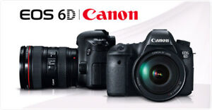 STORE SALE - BRAND NEW CANON EOS 6D WITH 24-105MM LENS KIT