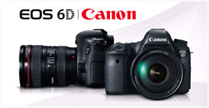 BRAND NEW CANON EOS 6D WITH 24-105MM LENS KIT