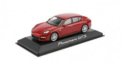 New Genuine Porsche 970 Panamera GTS Red 1.43 Scale Model Car WAP020230C
