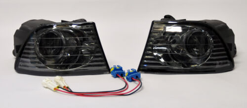 99-05 Lexus IS200 Front Smoke Projector Fog Lights Smoked