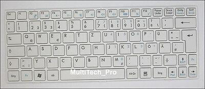 U135 Series - DE Tastatur f. MSI Wind U135 U135DX U160 U160MX Series - Weiss -