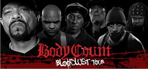 4 x Tickets for Body Count - Big Top, Luna Park, Sat 3rd Jun 2017 Collaroy Manly Area Preview