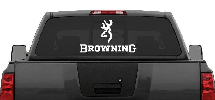 Truck Stickers For Back Window >> Details About Browning Rear Window Decal Graphic Truck Car Suv Large 22 Wide Choose Color