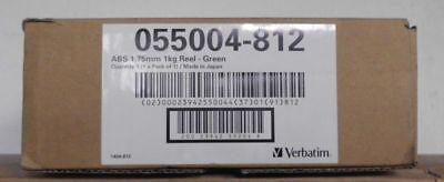Verbatim Filament Rolle für 3D Drucker 1kg Green ABS 1,75mm     OVP B