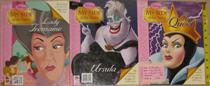 Qty 3 x Disney Princess My Side of the Story Books London Ontario image 2