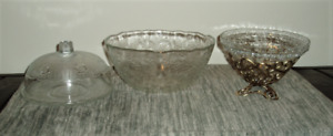 BOWLS AND GLASSES FOR SALE