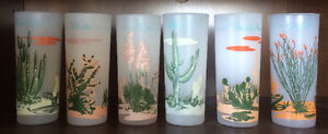 Frosted Cactus Glas     Blakely Oil & Gas Arizona collectibles.