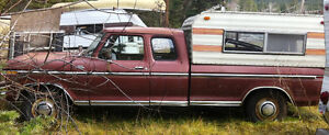 1979 Ford F-250, 351 Cleveland, 300 Inline 6, 9 inch rear end Williams Lake Cariboo Area image 3