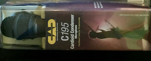 CAD C195 Condenser Vocal Mikes (brand-new)