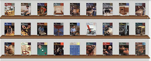 complete collection of Fine Woodworking Magazines