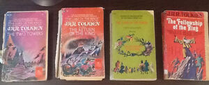 Disney, Tolkien and other old books from 1960's Windsor Region Ontario image 1