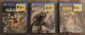 Selling Three PS4 Games London Ontario image 1