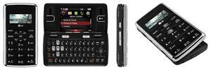 NEW LG ENV2 VX9100 BLACK VERIZON NO CONTRACT QWERTY BASIC CELL PHONE