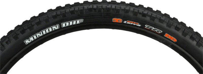 Maxxis Minion DHF Tire - 24 x 2.4 Clincher Folding Black Dual