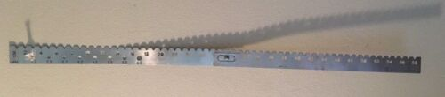 Zimmer Surgical 60 cm IM Nail radiological radioopaque Orthopedic Ruler