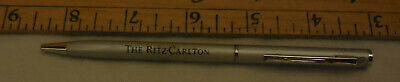 vintage The Ritz - Carlton Ball Point pen chrome color