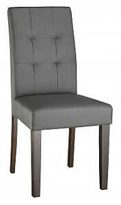 BRAND NEW GREY OR WHITE MODERN PARSON CHAIRS SALE