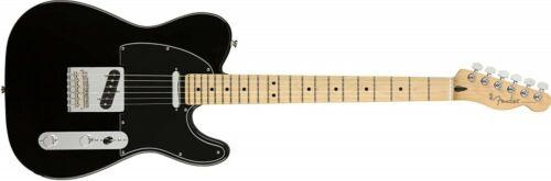 Fender Electric Guitar Player Telecaster Maple Fingerboard Black
