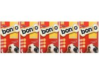 5 x Boxes of Dog Biscuits Bonio Chicken Training Treat Healthy Teeth Gums Digestion