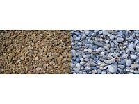 Free red chip and cottage garden style pebbles for low maintenance gardens / driveways in Airdrie!