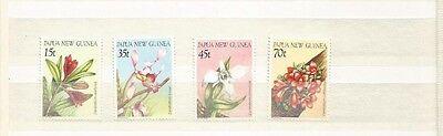 PAPUA NEW GUINEA SCOTT 651-4 MNH SCV $10+