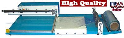 "16"" X 24"" Superior L - Bar Sealer + Rack Dispenser Heavy Duty w/ Film Guides for sale  South El Monte"