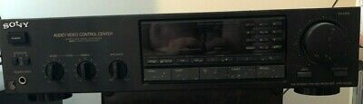 Sony Audio/Video Receiver STR-AV220 Dolby Surround Sound PHONO Input TESTED