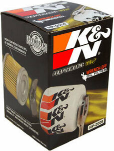 Two New K&N HP-2006 Oil Filters & Free Cabin Air Filter