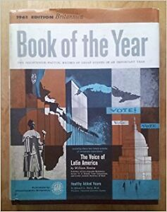 1960 and 1961 Britannica Book of the Year (Canadian editions)