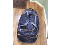 Large flower duffle bag for travel or camping etc
