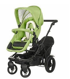 Double pushchair/tandem. £200 ono. Multi-position.Convert, Pramette to forward or parent facing.