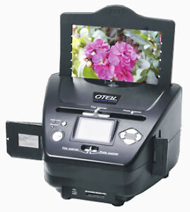 3-in-1 Digital Photo+Film+Slide Scanner w/ 2.4